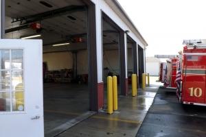 Cortland Fire Department station exterior