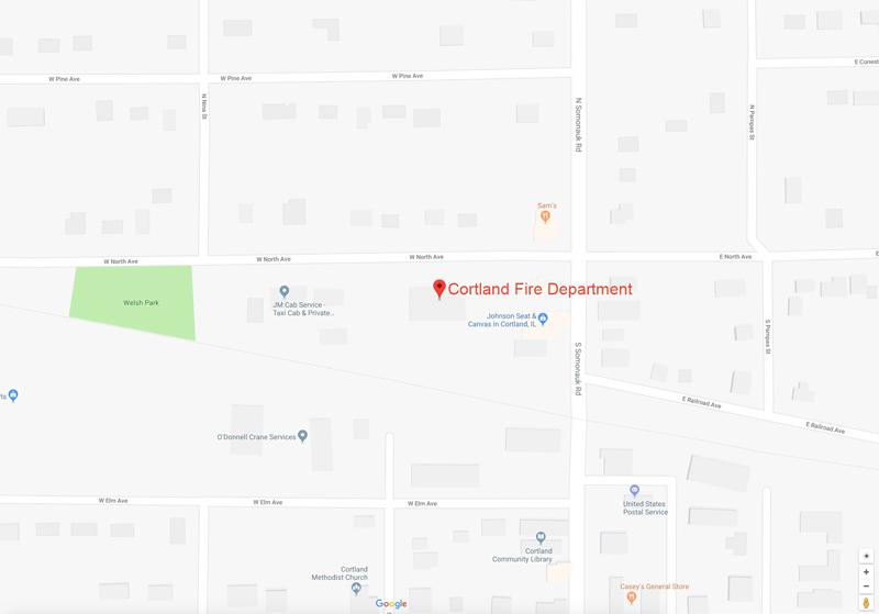 Cortland Fire Department Google Map